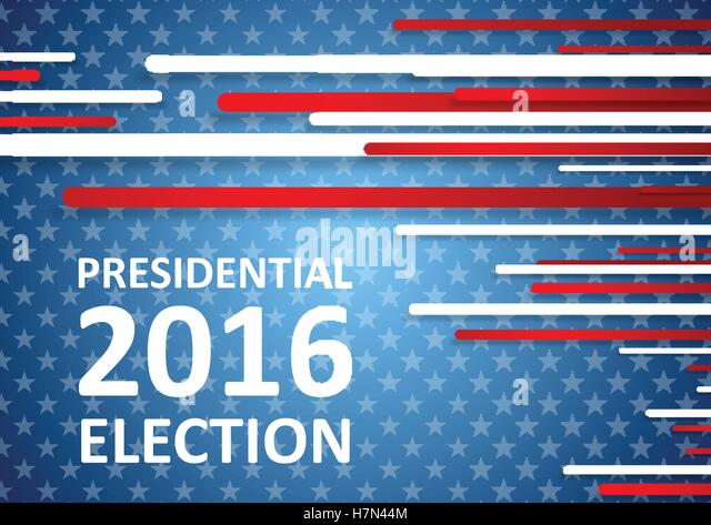 2016 Presidential Campaign Stock Vector Images - Alamy