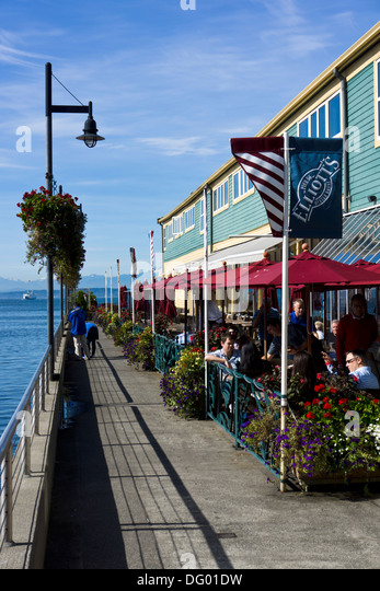 waterfront restaurants at pier 57 seattle waterfront seattle