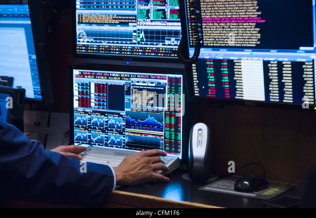Stock broker or trader