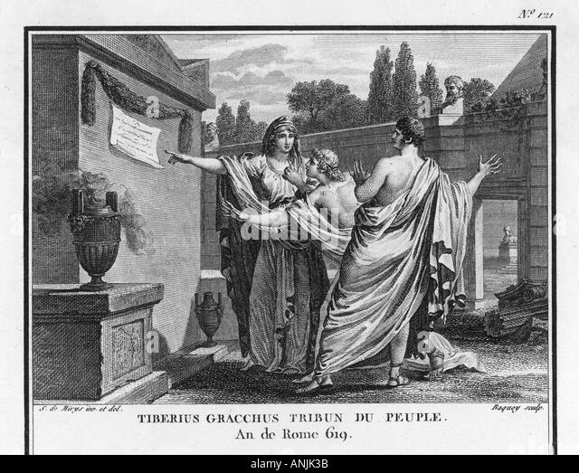 roman gracchi brothers Tiberius gracchus, the tribune murdered in 133 by the mob of  enacted by a  commission which includes his brother gaius in 123.