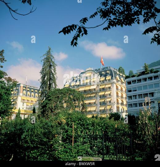 Switzerland europe vaud montreux hotel stock photos for M park geneve