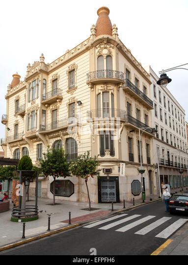 Melilla autonomous city state spanish territory in north for Architecture 1930