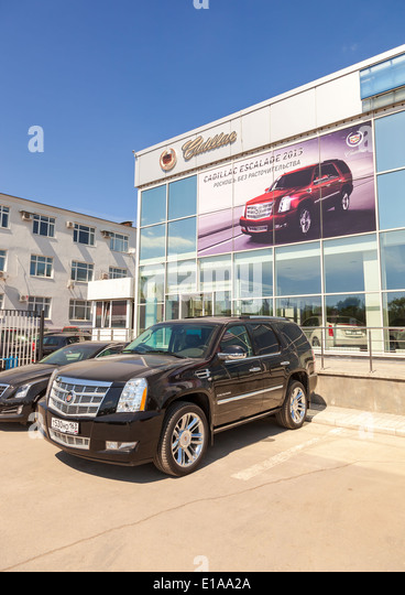 Cadillac motor car company stock photos cadillac motor for General motors cadillac headquarters