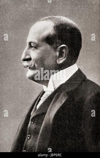 Take or Tache Ionescu, aka Demetriu G. Ionnescu, 1858 – 1922.   Romanian centrist politician, journalist, lawyer, - Stock Image