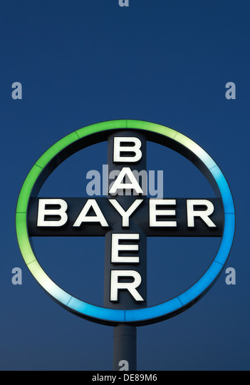 bayer logo stock photos bayer logo stock images alamy. Black Bedroom Furniture Sets. Home Design Ideas