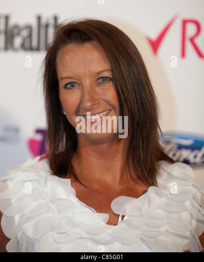 former surfing champion layne beachley arriving at the womens health i support women in sport