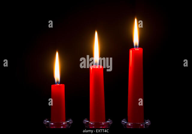 red candle black background - photo #48