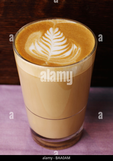 cafe au lait stock photos cafe au lait stock images alamy. Black Bedroom Furniture Sets. Home Design Ideas