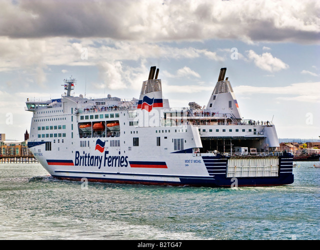 Brittany Ferries Portsmouth Stock Photos & Brittany ...
