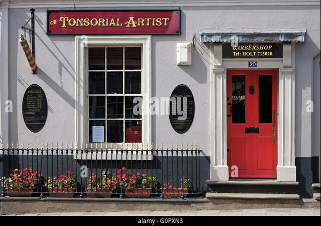 Barber Shop Johnson City Tn : ... Barbers Pole Stock Photos Barbers Pole Stock Images Alamy and Relaxed