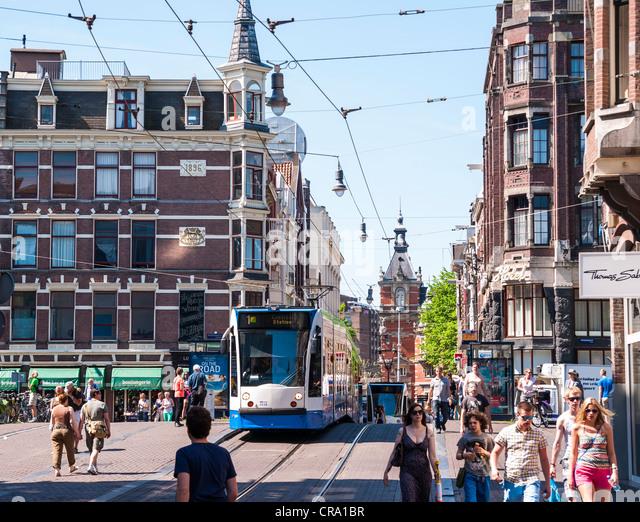 Tram City Center Amsterdam Stock Photos & Tram City Center ...