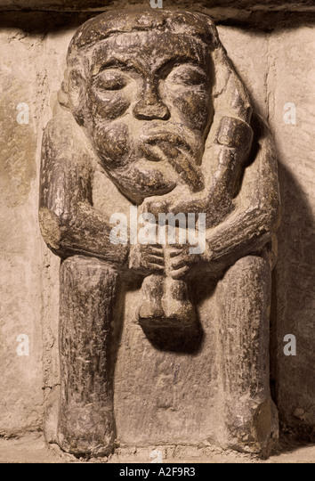 Medieval english gargoyle stock photos
