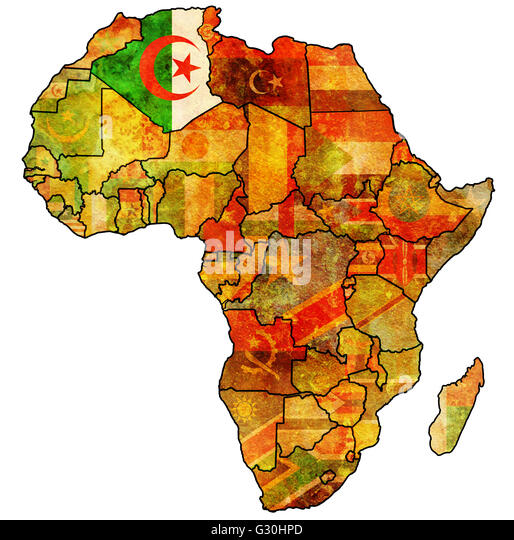 Algeria Country Map Stock Photos Algeria Country Map Stock - Political map of algeria