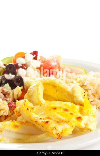 Ovenbaked stock photos ovenbaked stock images alamy for Fish and rice diet