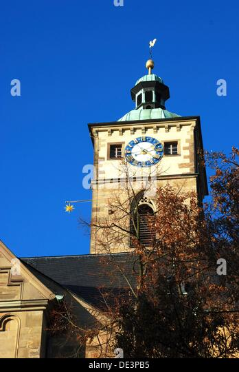 Saint Johannes Church In Schweinfurt/Frankonia   Stock Image