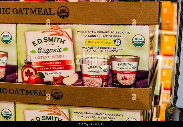 Instant Oatmeal Costco : Costco store stock photos images alamy