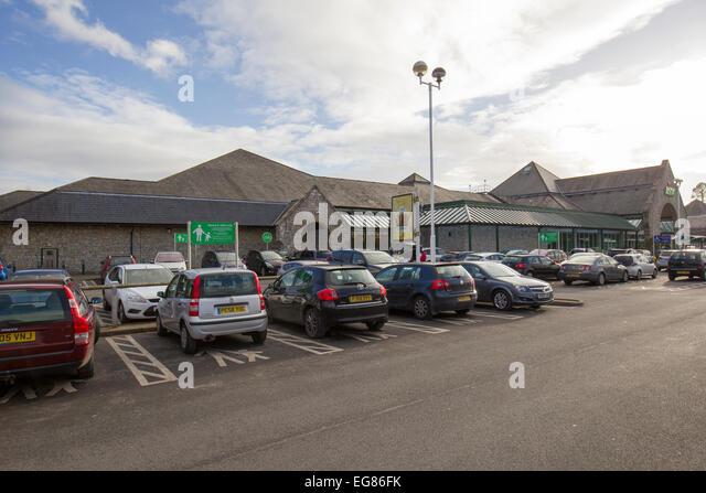 Asda Car Park Burton On Trent