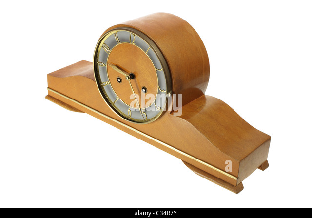 mantle clock stock image - Mantle Clock