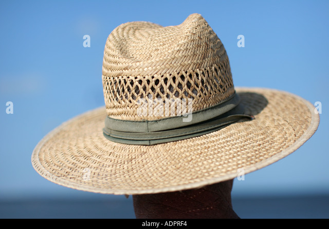 florida straw hat blue sky water sun protection fashion style