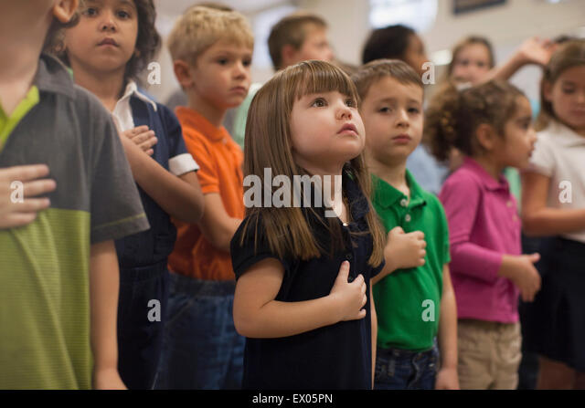 essay on pledge of allegiance in schools Free essay: the pledge of allegiance in the public school system the pledge of allegiance has become a major issue for students, teachers, parents and.