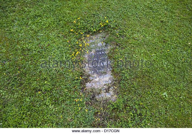 Gravestone flowers stock photos gravestone flowers stock for Extra mural cemetery brighton