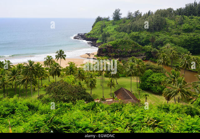 Allerton National Tropical Botanical Garden Within Lawau0027i Valley, Kauai,  Hawaii, USA