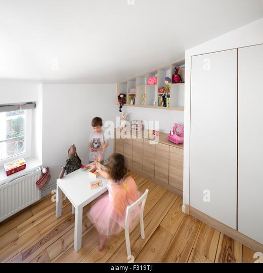 Chambre coucher stock photos chambre coucher stock images alamy - Petite chambre d enfant ...