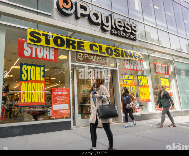 The Source Shoe Store On Manhattan