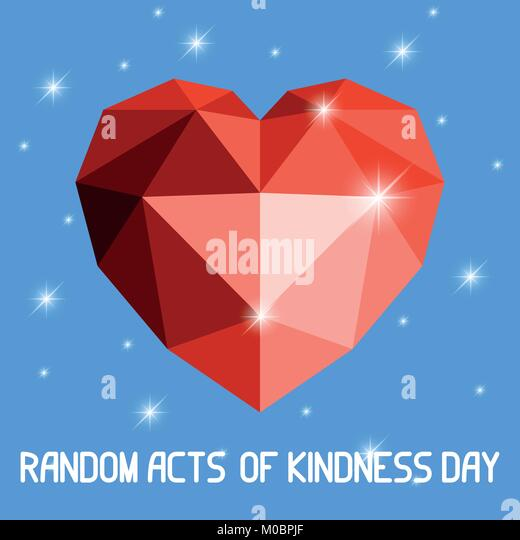 40th Birthday Random Acts Of Kindness: Kindness Vectors Stock Photos & Kindness Vectors Stock