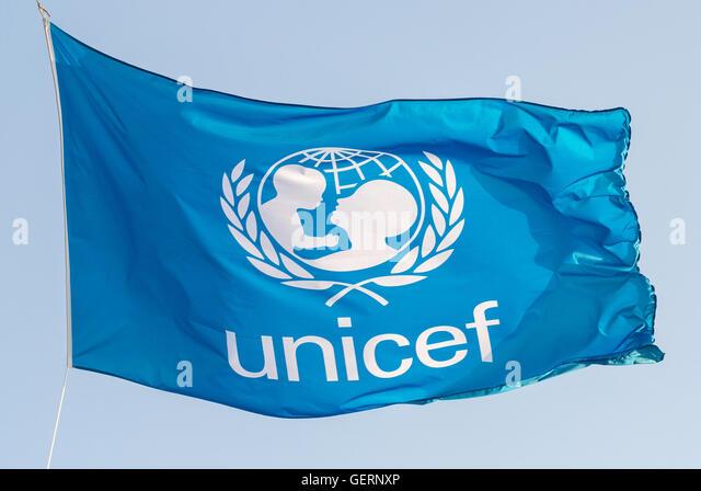 Unicef Logo Stock Photos & Unicef Logo Stock Images - Alamy