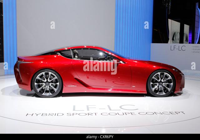 Lexus LF LC, New Presentation, Concept Car Study, Geneva Motor Show 2012
