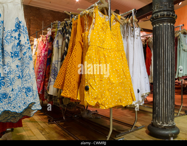 Racks Of Clothes United States Stock Photos Racks Of