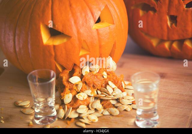 pumpkin puking seeds