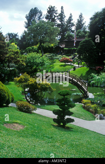 Huntington Library And Gardens Japanese Gardens Pasadena CA   Stock Image