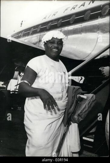 King togo left stock photos king togo left stock images alamy 08 1957 king of togo flies home kalipe it king publicscrutiny Images