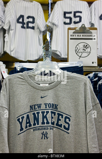 Sporting goods store interior stock photos