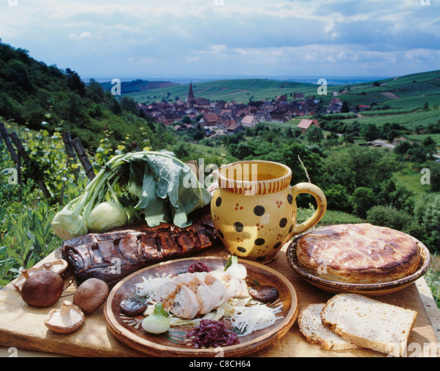 Region of alsace stock photos region of alsace stock for Alsatian cuisine