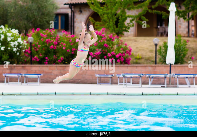 Jump Water Palm Stock Photos Jump Water Palm Stock Images Alamy