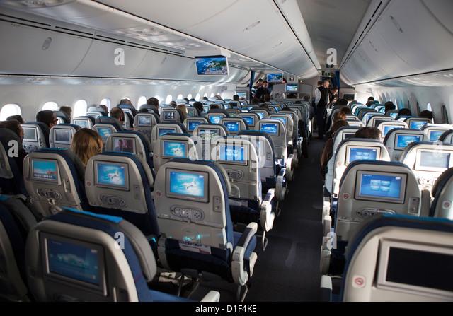 Dreamliner interior stock photos dreamliner interior for Interior 787 dreamliner