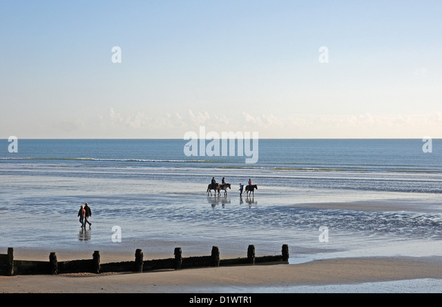 Horse Riding On West Wittering Beach