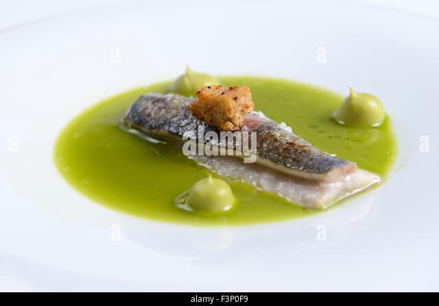 Nouvelle cuisine entree stock photos nouvelle cuisine for Nouvelle cuisine