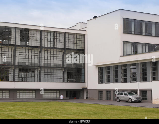 bauhaus building architecture school designed stock photos bauhaus