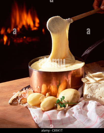 Aligot, Mashed Potatoes With Melted Cheese Recipe — Dishmaps