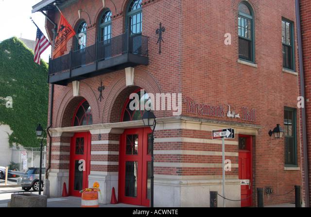 Foyer Museum Usa : Fireman s stock photos images alamy