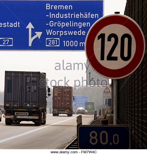 autobahn sign germany stock photos autobahn sign germany stock images alamy. Black Bedroom Furniture Sets. Home Design Ideas