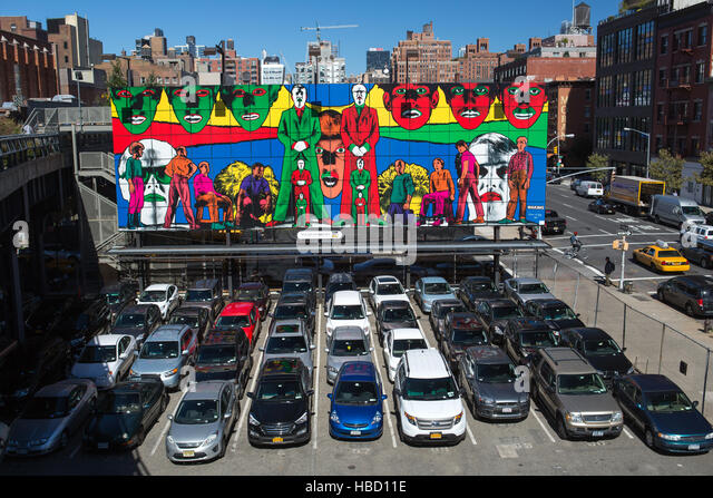 Parking lots usa stock photos parking lots usa stock for Parking garages new york city