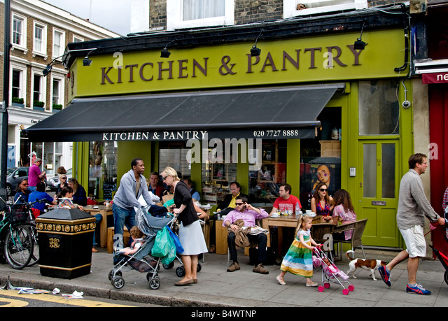 notting hill cafe stock photos notting hill cafe stock images alamy. Black Bedroom Furniture Sets. Home Design Ideas