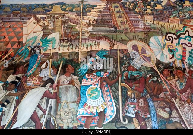 Diego rivera stock photos diego rivera stock images alamy for Diego rivera mural palacio nacional