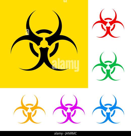 Biological Hazard Symbols Stock Photos Biological Hazard Symbols