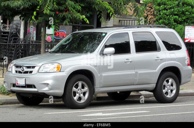 mazda tribute stock photos mazda tribute stock images alamy. Black Bedroom Furniture Sets. Home Design Ideas